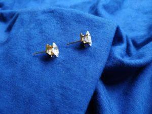 Types Of Stud Earrings - Diamond Stud