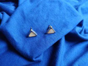 Types Of Stud Earrings triangle shaped Stud